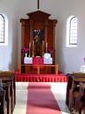Az oltártér